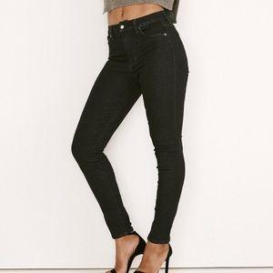 Hi- Rise Honey Curvy Skinny Ankle Jeans